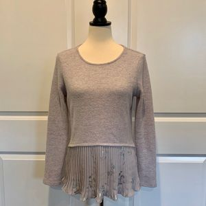Lauren Conrad Sweater with floral details